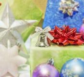 Christmas decoration bauble seasonal winter holidays. Close Royalty Free Stock Image
