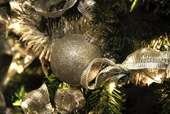 Christmas Decoration Baubles Royalty Free Stock Images