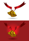 Christmas decoration bell Royalty Free Stock Photos