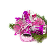 Christmas decoration with bells Royalty Free Stock Images