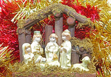 Christmas decoration - Bethlehem Royalty Free Stock Photos