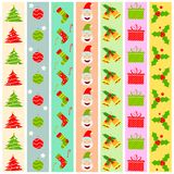 Christmas Decoration Boarder Stock Photography