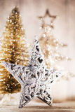 Christmas decoration on the bokeh background Stock Photography
