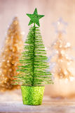 Christmas decoration on the bokeh background Stock Photo