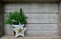 Christmas Decoration branches Stock Image