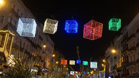 Christmas decoration in brussels. Traditional christmas decoration in brussels Royalty Free Stock Photography