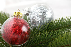 Christmas decoration bubles Royalty Free Stock Image
