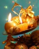 Christmas Decoration Card - Stock Photo Stock Image