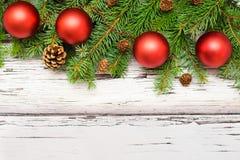Christmas decoration card Stock Photo