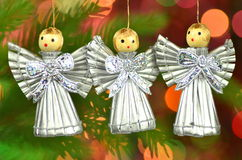 Christmas decoration, choir of angels Stock Photography