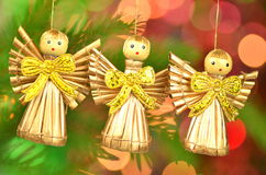 Christmas decoration, choir of angels Royalty Free Stock Photo
