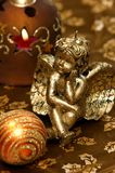 Christmas decoration - Christmas angel stock image