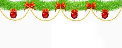 Christmas decoration and Christmas balls. Stock Images