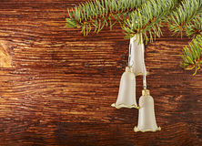 Christmas decoration. Christmas bells. Stock Photos