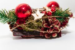 Christmas decoration . Royalty Free Stock Images