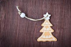 Christmas decoration with Christmas tree Stock Photos