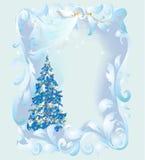 Christmas decoration of the Christmas tree and Angel Christmas Stock Image