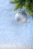 Christmas Decoration on a Christmas Tree Stock Image