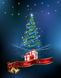 Christmas decoration of the Christmas tree, Royalty Free Stock Image