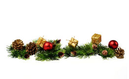 Christmas decoration of Christmas tree Royalty Free Stock Photos