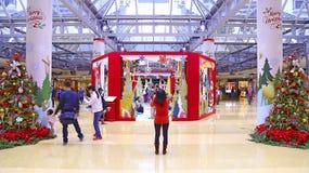 Christmas decoration at cityplaza mall, hong kong Stock Image