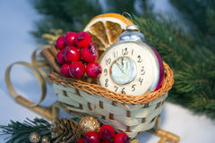 2015 Christmas decoration Royalty Free Stock Images
