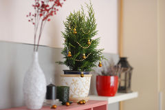 Christmas decoration close-up Royalty Free Stock Images