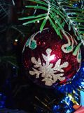 Christmas decoration close-up stock images