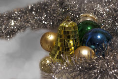 Christmas decoration close-up. Wiht bokeh background Royalty Free Stock Images