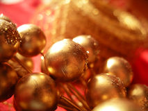 Christmas decoration closeup Royalty Free Stock Photos