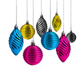 Christmas decoration cmyk Royalty Free Stock Photo