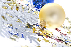 Christmas decoration collage Stock Photo