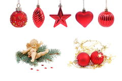 Christmas decoration collection 4 Royalty Free Stock Image