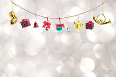 Christmas decoration collection Stock Photography