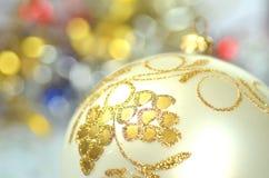 Christmas decoration, colored Christmas ball Royalty Free Stock Photos