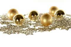 Christmas decoration composition Stock Images