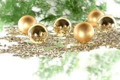Christmas decoration composition Royalty Free Stock Photo