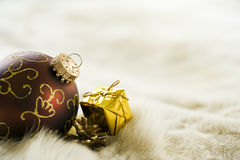 Christmas decoration with copy space Stock Images