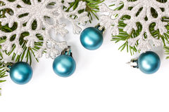 Christmas decoration with copy space Royalty Free Stock Photos