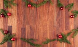 Christmas decoration with copy space Royalty Free Stock Photo