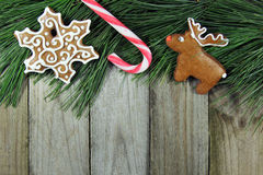 Christmas decoration with copy space Stock Image