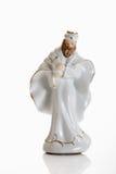 Christmas decoration, crib figurine, king Stock Image