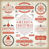 Christmas decoration  design elements Stock Photography