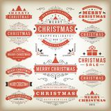 Christmas decoration  design elements Royalty Free Stock Photo