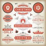 Christmas decoration  design elements Stock Photo