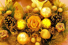 Christmas decoration detail Royalty Free Stock Image