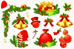 Christmas Decoration Element Stock Photos
