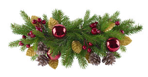 Christmas decoration element Stock Photo