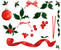 Christmas decoration elements Stock Photography