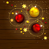 Christmas decoration elements Royalty Free Stock Images